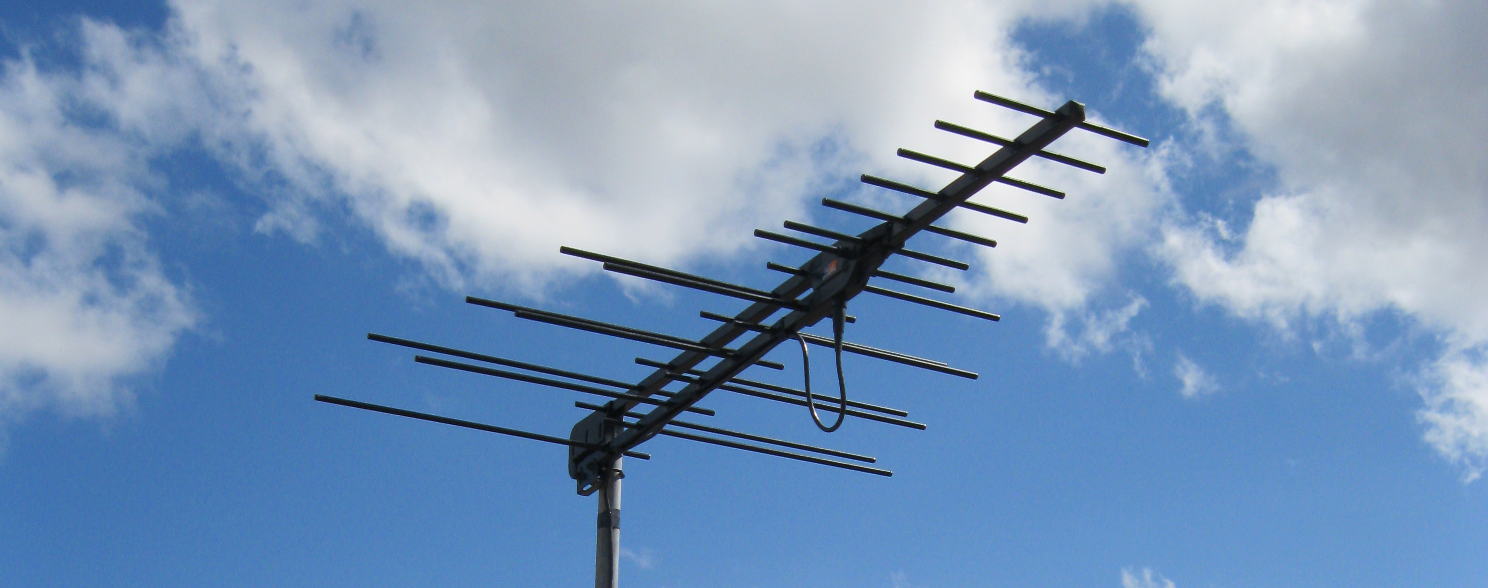digital antenna installation